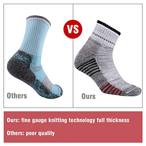 Mens-Hiking-Walking-Socks-FEIDEER-Multi-Pack-Wicking-Cushioned-Outdoor-Recreation-Hiking-Crew-Socks