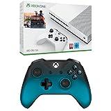 Pack Console Xbox One S 500 Go + Battlefield 1 + Manette sans fil pour Xbox : Ocean Shadow