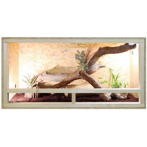 Terrario: madera Terrario para Reptiles página ventilación 120 x 60...