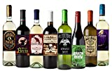 American Art Classics Set of 12 Halloween Wine Bottle Labels - 5 Inch X 4 Inch