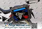 Kit de 2 protectores adhesivos para maletas Honda Africa Twin CRF 1100 L Adventure Sports V-AT-CRF-1100-P (Tricolor)