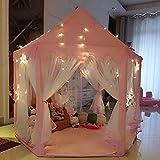 UniqueVC Intérieur Tente Princesse,Tente Enfant Jardin Enfant,Tente de Jeu...