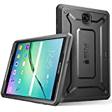 Galaxy Tab S2 9.7 Case, SUPCASE [Heavy Duty] Case for Samsung Galaxy Tab S2 9.7 Tablet(SM-T810/T815/T813)[Unicorn Beetle Pro Series] Protective Cover with Built-in Screen Protector Bumper (BK/BK)