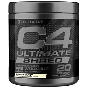 C4 Ultimate Shred Pre Workout Powder, Fat Burner for Men & Women, Weight Loss Supplement with Ginger Root Extract, Gummy Candy, 20 Servings 11 - My Weight Loss Today