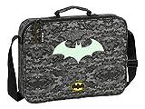 Cartera Extraescolares de Batman Night, 380x60x280mm