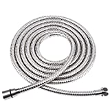 HOMEIDEAS 138-Inch Shower Hose 304 Stainless Steel Extra Long Shower Hose Replacement Handheld Shower Head Hose Extension