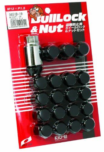 KYO-EI [ 協永産業 ] Bull Lock [ 袋タイプ 19HEX ] M12 x P1.5 5H車用 [ 個数:20P ] [ 品番 ] 0651B-19