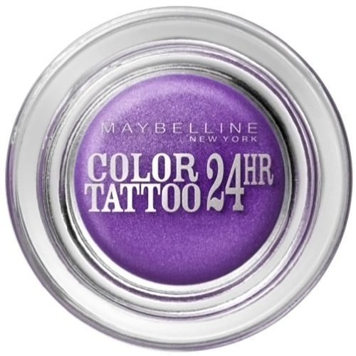 Gemey Maybelline - Gemey Maybelline Eyestudio Color Tattoo 24h - 15 Endless Purple by Maybelline