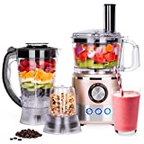 Best Choice Products 650W All-In-One Multifunctional Food Processor, Blender, Grinder w/ 10 Attachments for Food Prep