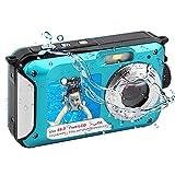 Appareil Photo Etanche 2.7K FHD 48MP sous Marin Caméscope Double écran méra Vidéo Numérique...