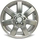 Road Ready Car Wheel For 2008-2019 Nissan Rouge 16 Inch 5 Lug Black Steel Rim Fits R16 Tire - Exact OEM Replacement - Full-Size Spare