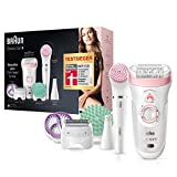 Braun Silk-épil Beauty-Set9 9-995 Deluxe 9-in-1 Kabellose Wet&Dry...