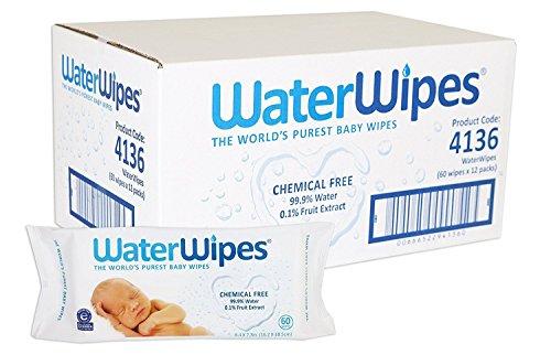 12 toallitas de agua Derma H2O 60 toallitas