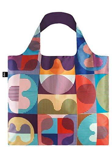 LOQI HVASS&Hannibal Grid Bag - Bolsa de la Compra reutilisable