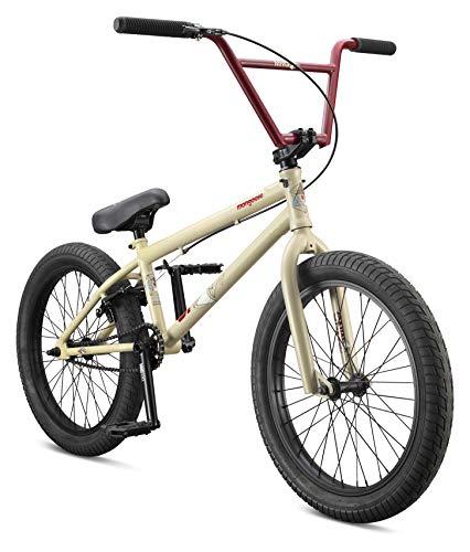 Mongoose Legion L60 Freestyle BMX Bike Line for Beginner-Level to Advanced Riders, Steel Frame, 20-Inch Wheels, Black/Orange