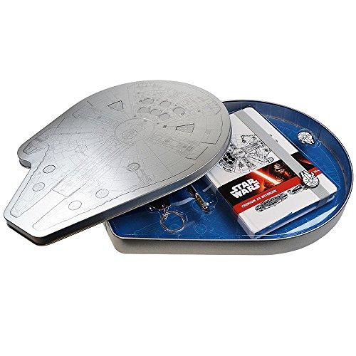 """Star Wars: El Despertar de la Fuerza Kit de accesorios de papelería, diseño """"Millennium Falcon"""