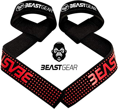 Correas Levantamiento de Pesas de Beast Gear – Correas Profesionales...