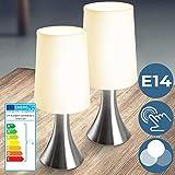 Lampe de Chevet Tactile 3 Intensités - CEE: A++ à E, E14, avec Fonction...