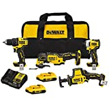 Dewalt DCK489D2 ATOMIC 20V MAX Brushless Lithium-Ion Cordless 4-Tool Combo Kit (2 Ah)