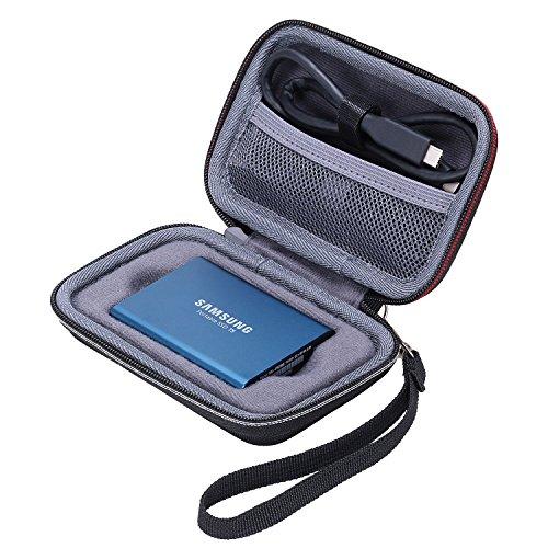 XANAD Porter Coque Rigide Housse pour Samsung T5 ou T3 Portable SSD 250 Go,...