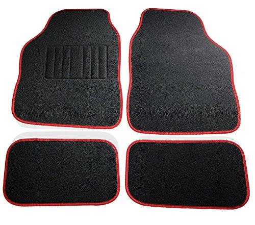 Safe Travel 27652 Tappetini universali per auto, Set, Auto con guida a sinistra, Tallone saldato,...