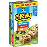 Quaker Chewy Granola Bars, 25% Less Sugar, 2 Flavor Variety Pack, (18 Pack) (Grocery)