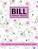 Bill Payment Tracker: 5-Year Paid Bills Organizer: Bill, Due Date, Amount Due, Amount Paid, Unpaid Balance, Notes (Bill Tracker Diary Journal)