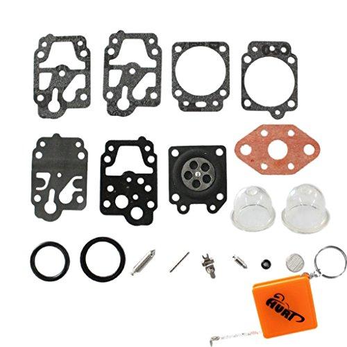 Huri - Kit di manutenzione carburatore a membrana pompa di fondo per Echo Dolmar Honda GX22 GX31 ZM3...