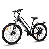Macwheel Cruiser-550 28' Bicicleta Eléctrica de Ciudad/Excursión, Batería de Iones de Litio...