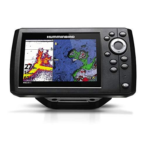 Humminbird 410210-1 HELIX 5 CHIRP GPS G2 Fish finder , Black
