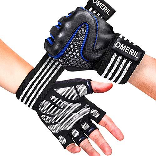 Fitness Handschuhe mit Handgelenkstütze und Palm Schutz, Größe L