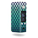 MightySkins Skin Compatible with Wismec Reuleaux RX200S – Circles   Protective, Durable, and Unique Vinyl Decal wrap Cover   Easy to Apply, Remove, and Change Styles   Made in The USA