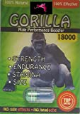 GORILLA 18K MAXXX  POWER  6 PILL 7 DAYS 'WOW' FOR A NIGHT YOU'LL NEVER FORGET AND WILL LEAVE YOUR PARTNER BEGGING FOR MORE PLUS  LOVE POTION EXCLUSIVE PEN
