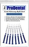 ProDental Teeth Whitening Gel Syringe Refill 8 Pack | 35% Carbamide Peroxide - 48 Treatments | Faster Results Than Tooth Whitening Strips - Pen - Powders and Toothpaste | Safe for Sensitive Teeth