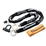 ドーベルマン(DOBERMAN) バイク チェーンロック ロング (Uロック・アシストリング付) DBL-004