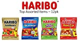 HARIBO Gummi Candy, Variety Pack, 5 ounce bags (Pack of 12)