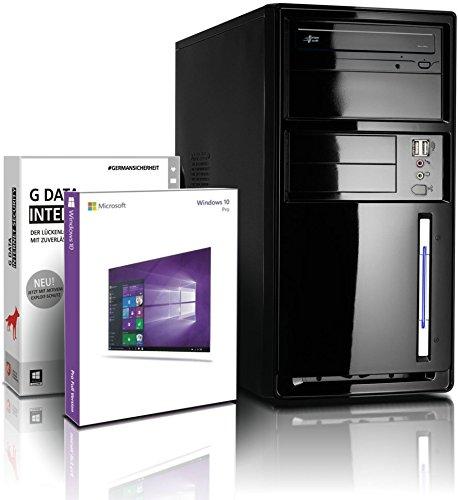 Intel Pentium G2020 Business Office Work PC Computer mit 3 Jahren Garantie!   Pentium G2020 2X 2.9 GHz   8GB   256 GB SSD   Intel HD   DVD±Brenner   Win10 64-Bit   Office Paket   GDATA   #6101