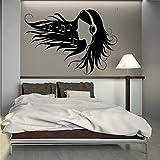 WERWN Creativo Cuento de Hadas Princesa y Conejo Pegatinas de Pared habitación de los niños Dormitorio
