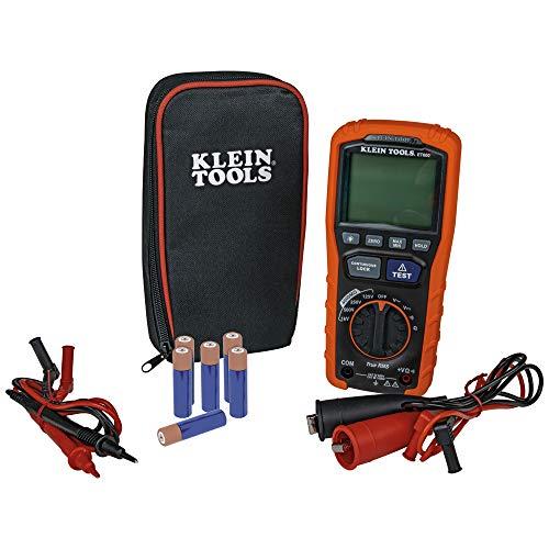Klein Tools ET600 Megohmmeter, Insulation...