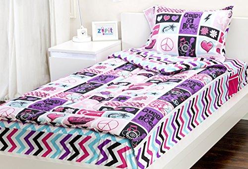 Rocker Princess 3 Piece Twin Comforter Set