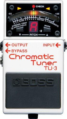 【徹底解説】John Mayer(ジョンメイヤー)のエフェクターボード・機材を解析!ギターを支える機材の数々を紹介!【ペダル・アンプ金額一覧】 BOSS ボス CHROMATIC TUNER クロマチック・チューナー TU-3