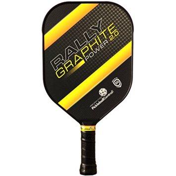 Rally Graphite Power 2.0 Pickleball Paddle (Yellow)