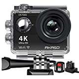 AKASO Caméra Sport Etanche 4k WiFi Action Cam 30fps, Caméscope Ultra HD,...