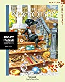 New York Puzzle Company - New Yorker Tag Sale - 1000 Piece Jigsaw Puzzle