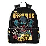 Mochila Mochila de Viaje The Offspringv Backpack 3D Full-Print Backpack Campus School Bag Casual Backpack Gym Travel Hiking Backpack