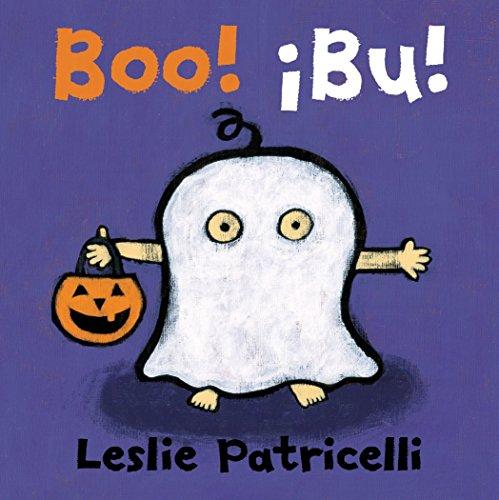 Boo! ¡Bu! Spanish Dual Language (Leslie Patricelli Board Books)