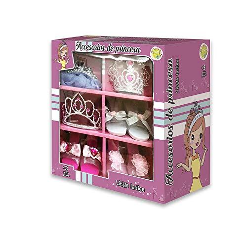 Tachan - Accesorios de Princesa en caja (CPA Toy Group BE2027) , color/modelo surtido