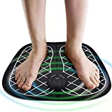 DUKHHARFoot Massager Pad With Remote Control Feet Muscle Stimulator Improve Blood Circulation Relieve Ache Pain Vibrator Machine (MASSAGER FOOT)
