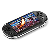 DREAMHAX Portable Video Games with 5 Inch Screen Free 10000 Games, Handheld Game Console with 8GB + 32GB Storage, Classic Arcade Retro Games Player Gameboy, Birthday Gifts Presents for Kids Children