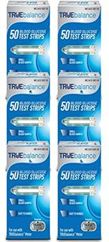TrueBalance Test Strips Bundle Deal 300ct (6 Boxes of 50ct = 300ct Total)